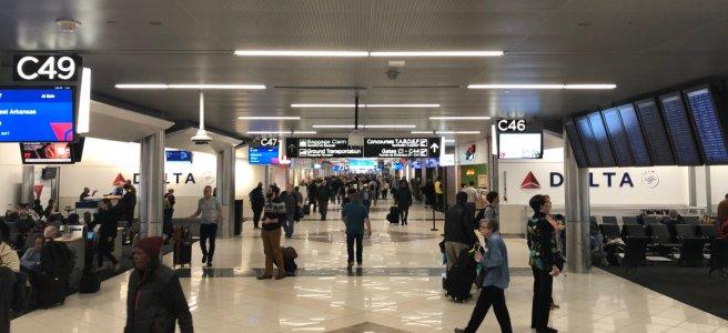 Photo inside ATL Terminal C