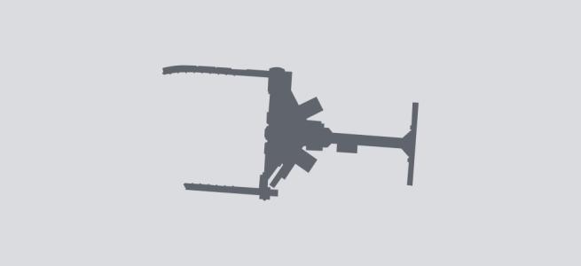 Terminal silhouette of CMH (Columbus)
