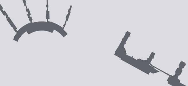 Terminal silhouette of LGA (New York–LaGuardia)