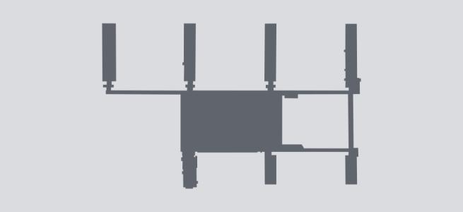 Terminal silhouette of PHX (Phoenix)