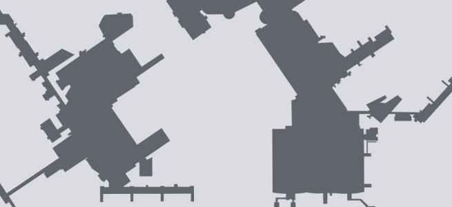 Terminal silhouette of LHR (London–Heathrow)