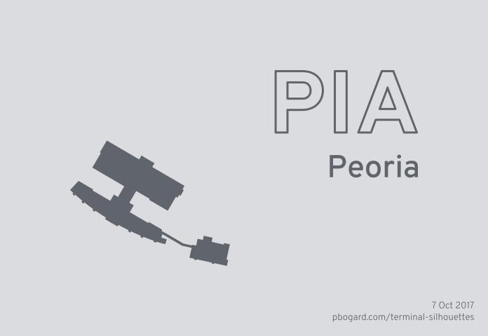Terminal silhouette of PIA (Peoria)
