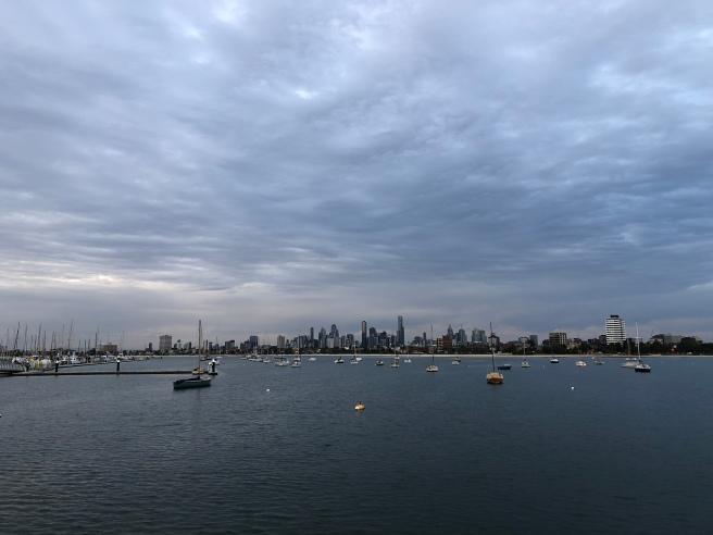 Skyline of Melbourne, Victoria, Australia