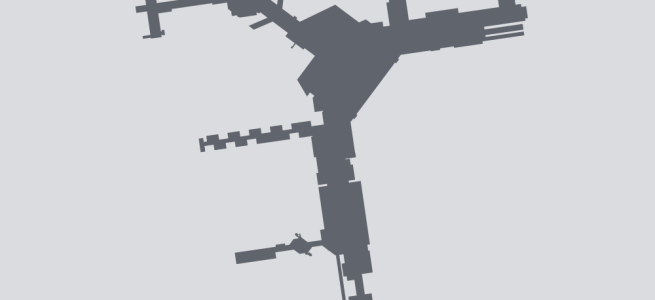 Terminal silhouette of MEL (Melbourne)
