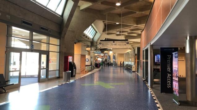 Landside interior of Terminal C