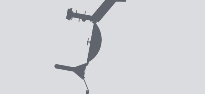 Terminal silhouette of ARN (Stockholm–Arlanda)