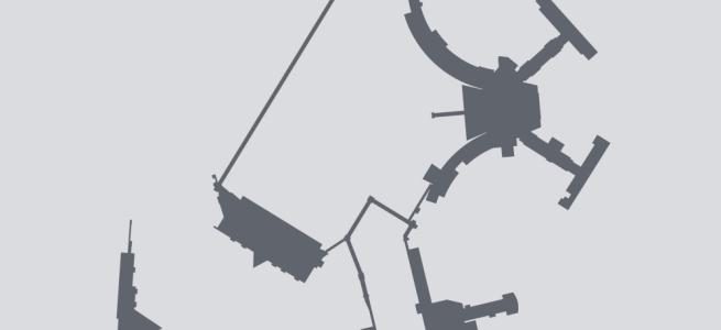 Terminal silhouette for BOS (Boston)