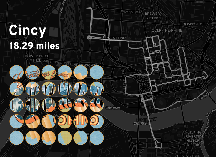 """Ingress mosaic map of the """"Cincy"""" mission."""