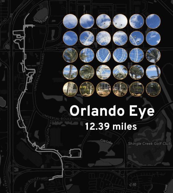 "Ingress mosaic map of the ""Orlando Eye"" mission."